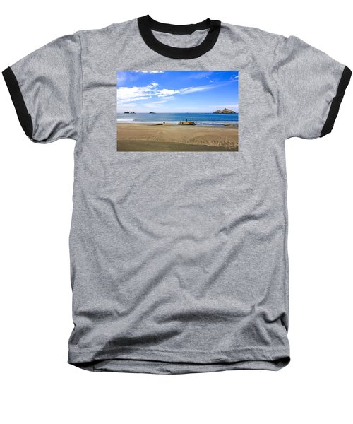 Pacific California Baseball T-Shirt by Chris Smith