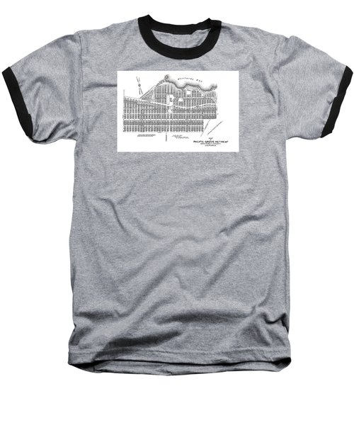 Pacific Grove May 7 1887 Baseball T-Shirt by California Views Mr Pat Hathaway Archives
