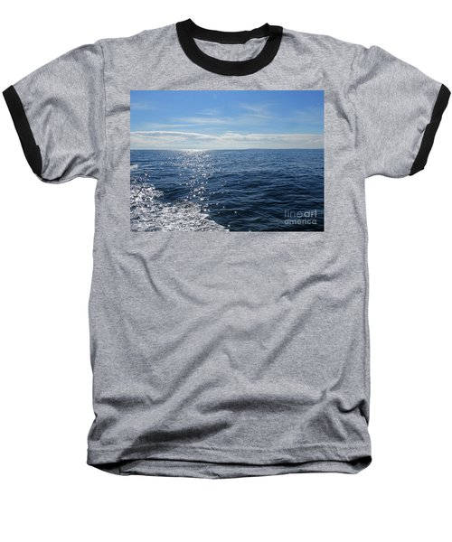 Pacific Ocean Baseball T-Shirt by Cindy Murphy - NightVisions