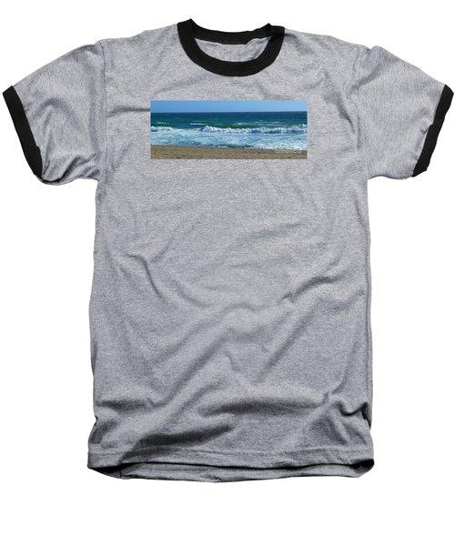 Pacific Ocean - Malibu Baseball T-Shirt