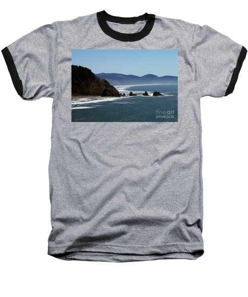 Pacific Ocean View 2 Baseball T-Shirt by Chalet Roome-Rigdon