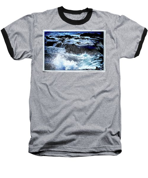 Pacific Palm Shadows Baseball T-Shirt