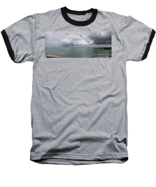 Pacific Storm Panorama Baseball T-Shirt