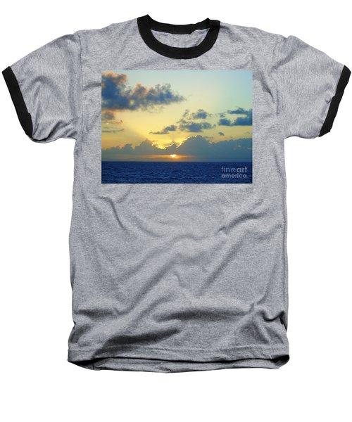 Pacific Sunrise, Japan Baseball T-Shirt by Susan Lafleur