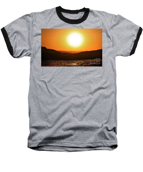 Pacific Sunset Baseball T-Shirt
