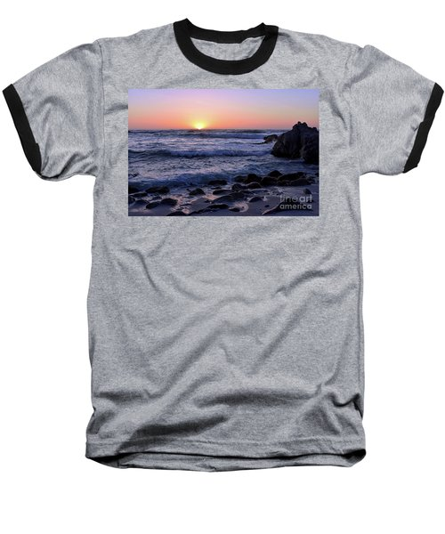 Baseball T-Shirt featuring the photograph Pacific Twilight by Gina Savage
