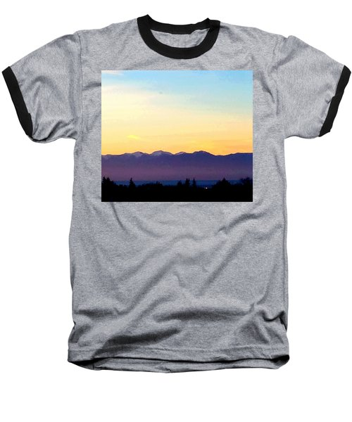 Pacific Twilight Baseball T-Shirt
