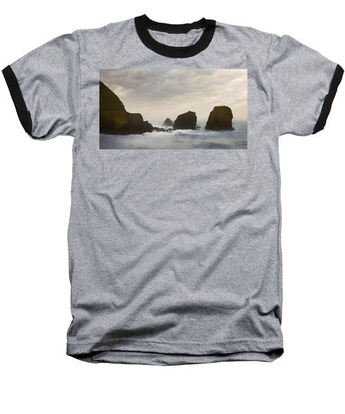 Pacifica Surf Baseball T-Shirt by John Hansen