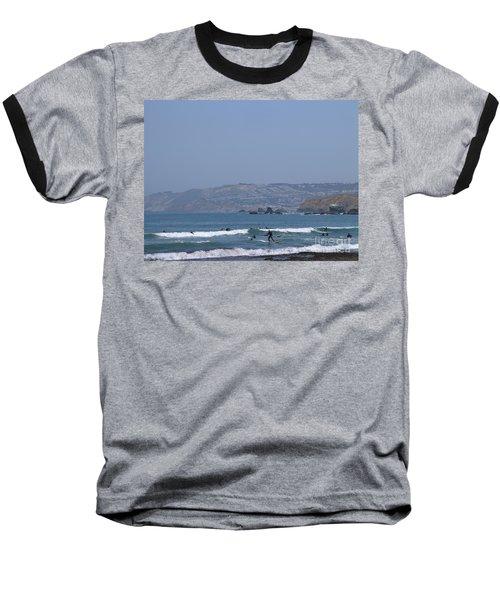 Pacifica Surfing Baseball T-Shirt