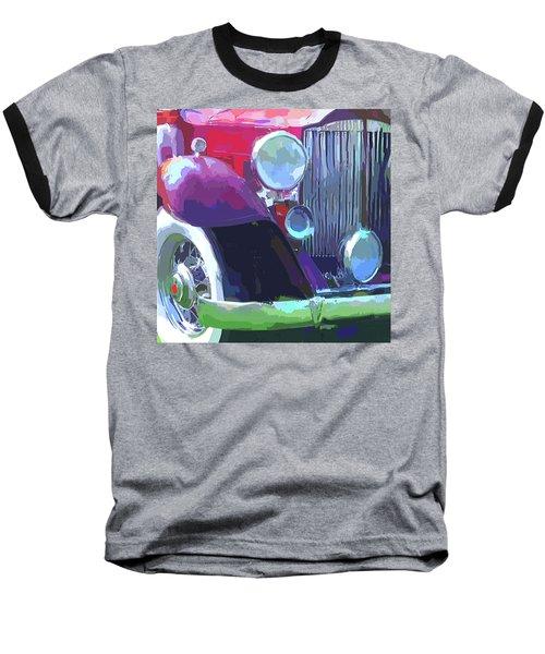 Packard Close Up Pop Baseball T-Shirt