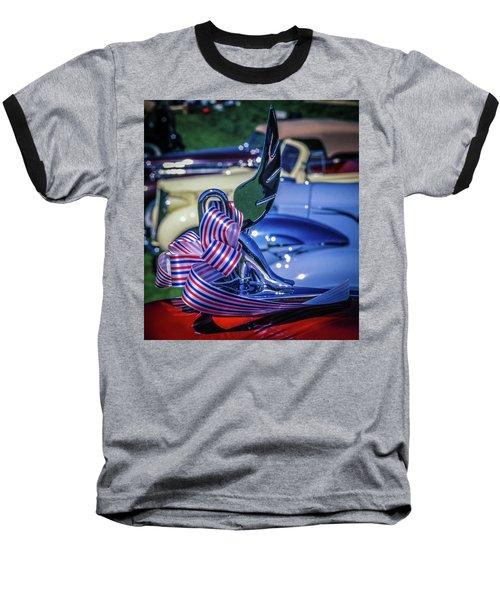 Packard Swan Baseball T-Shirt