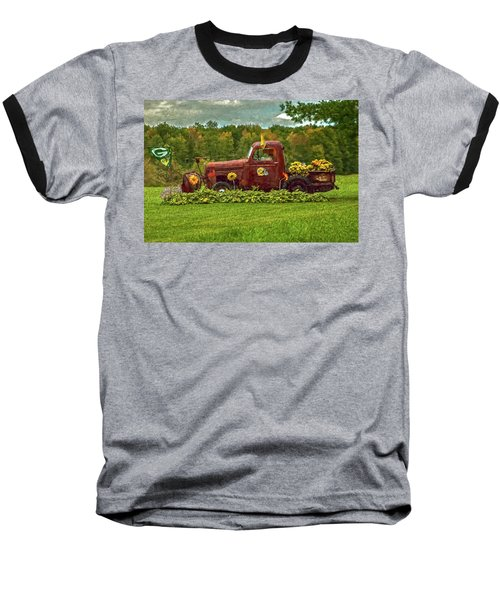 Packers Plow Baseball T-Shirt by Trey Foerster