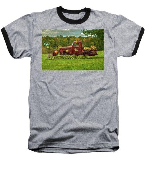 Packers Plow Baseball T-Shirt