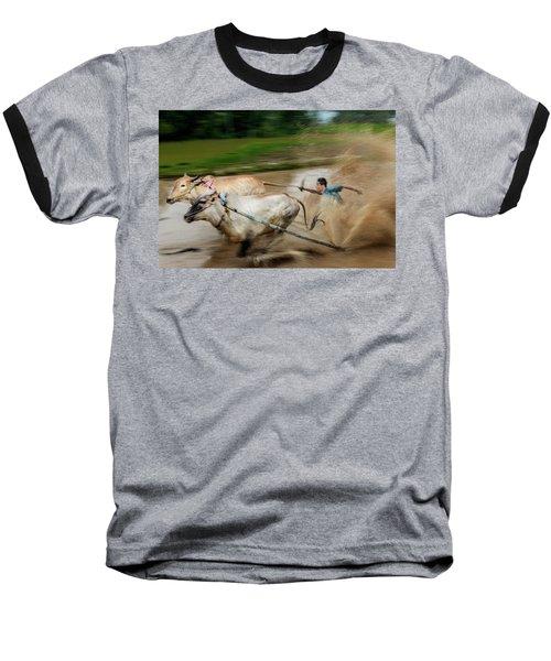 Pacu Jawi Bull Race Festival Baseball T-Shirt
