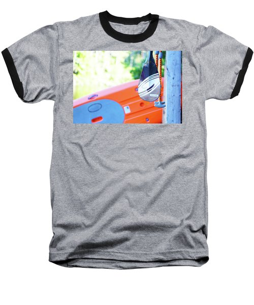 Baseball T-Shirt featuring the photograph Paddle by Angi Parks