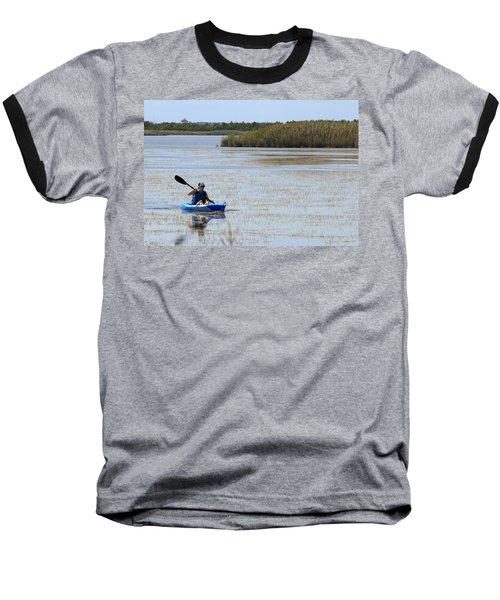 Paddle Away Baseball T-Shirt