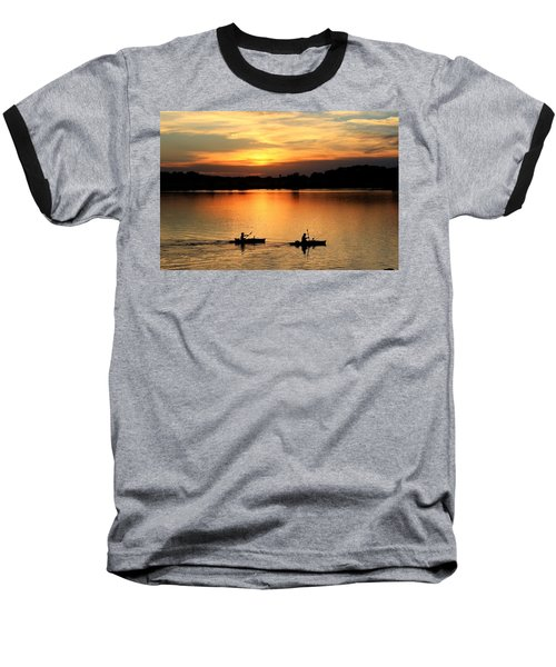 Paddling Back To Camp Baseball T-Shirt