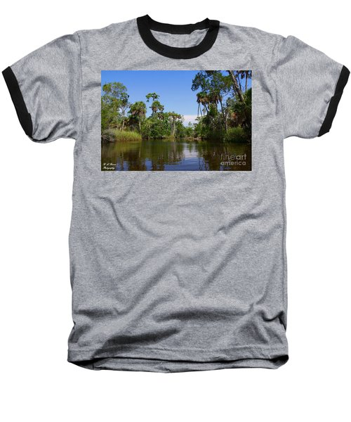 Paddling Otter Creek Baseball T-Shirt
