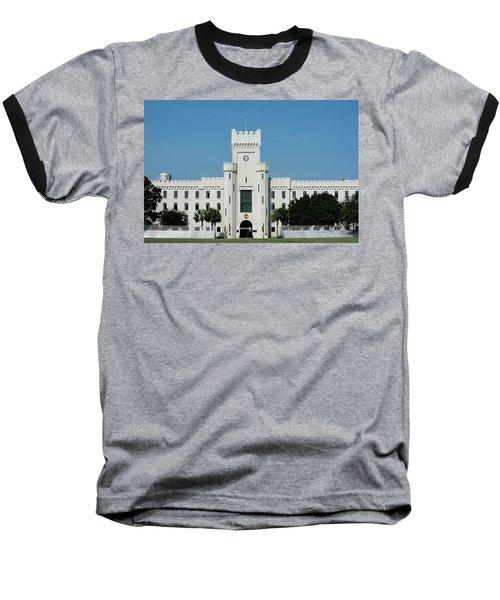 Padgett-thomas Barracks Baseball T-Shirt by Ed Waldrop