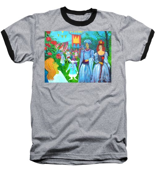 Pageant - Alice In Wonderland Baseball T-Shirt