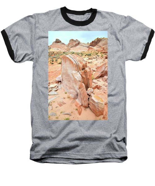 Baseball T-Shirt featuring the photograph Pages Of Stone In Valley Of Fire by Ray Mathis