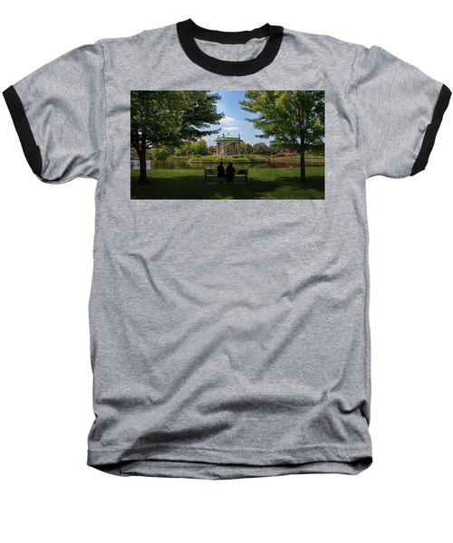 Pagoda Circle Interlude Baseball T-Shirt