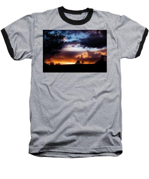 Pagosa Sunset 11-20-2014 Baseball T-Shirt