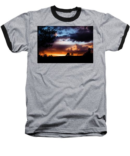 Pagosa Sunset 11-20-2014 Baseball T-Shirt