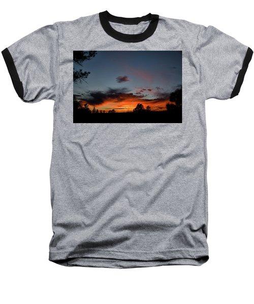 Pagosa Sunset 11-30-2014 Baseball T-Shirt