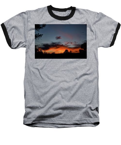 Pagosa Sunset 11-30-2014 Baseball T-Shirt