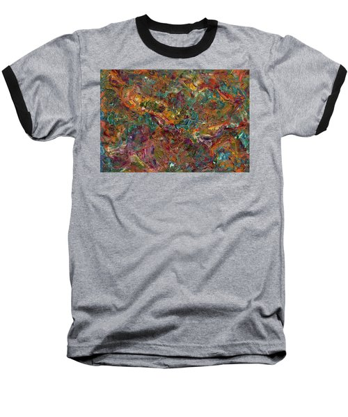 Paint Number 16 Baseball T-Shirt by James W Johnson