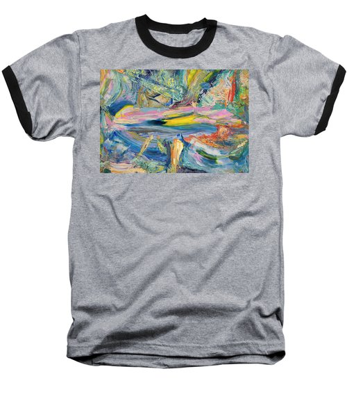Paint Number 31 Baseball T-Shirt by James W Johnson