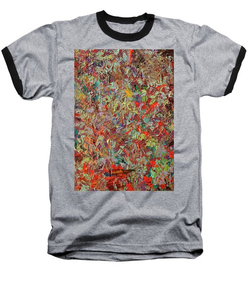 Paint Number 33 Baseball T-Shirt by James W Johnson