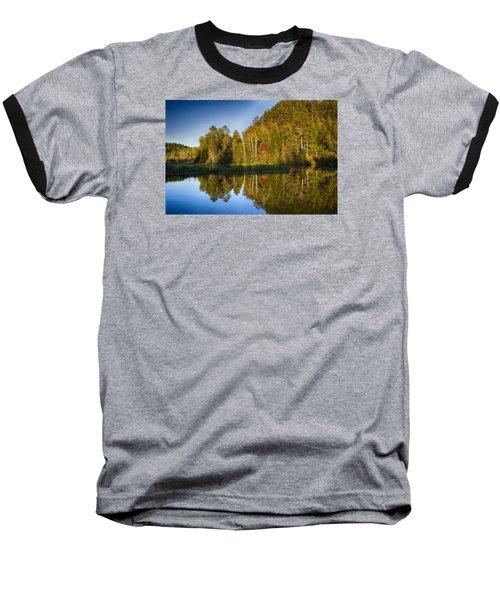 Paint River Baseball T-Shirt by Dan Hefle