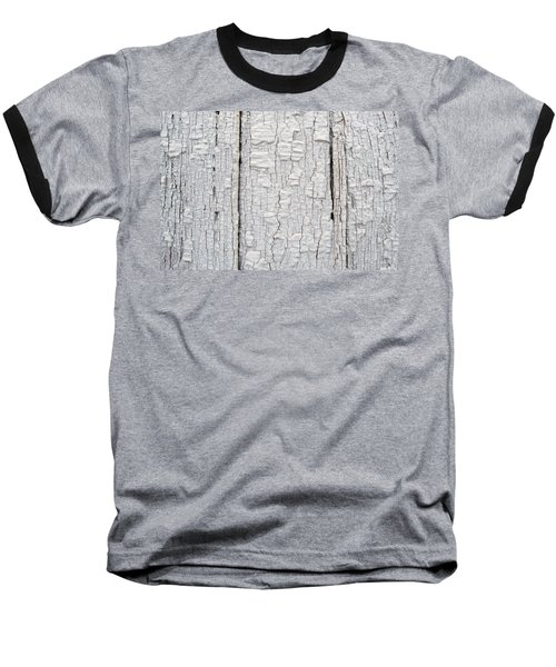 Baseball T-Shirt featuring the photograph Painted Aged Wood by John Williams