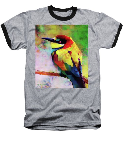 Painted Bee Eater Baseball T-Shirt