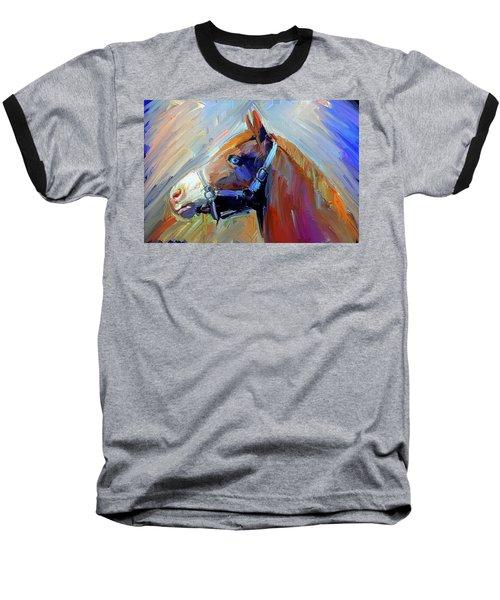 Painted Color Horse Baseball T-Shirt