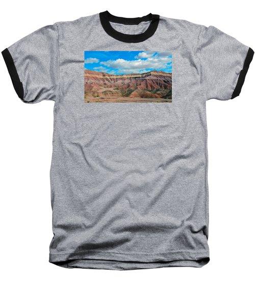 Painted Desert Baseball T-Shirt by Charlotte Schafer