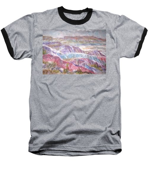 Painted Desert Baseball T-Shirt by Ellen Levinson