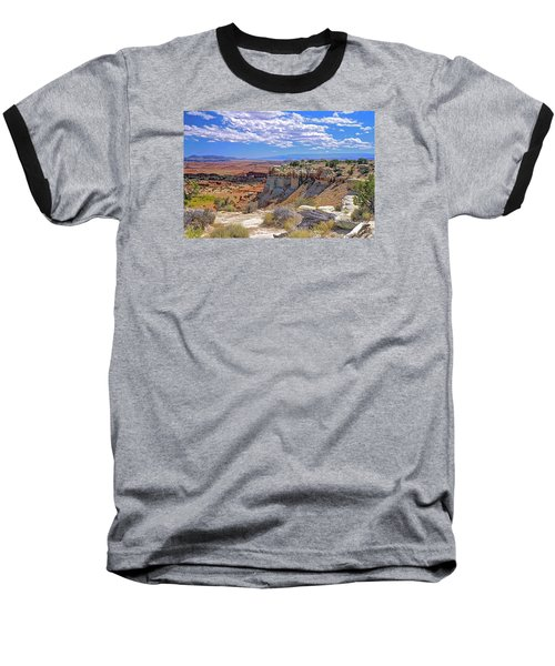 Painted Desert Of Utah Baseball T-Shirt