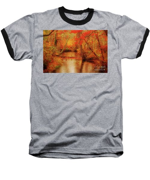 Painted Fall Baseball T-Shirt