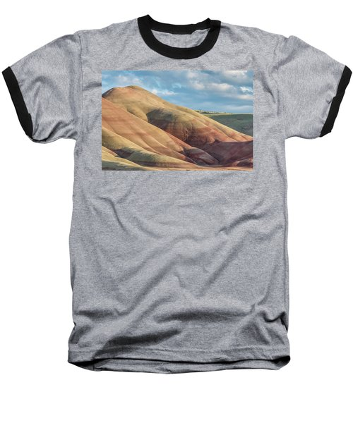 Painted Hill And Clouds Baseball T-Shirt by Greg Nyquist