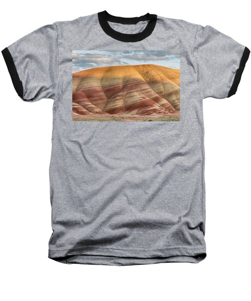 Baseball T-Shirt featuring the photograph Painted Hill At Last Light by Greg Nyquist
