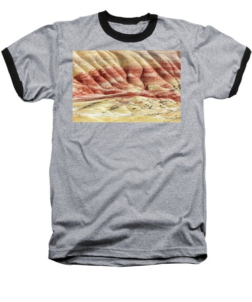 Baseball T-Shirt featuring the photograph Painted Hills Landscape by Pierre Leclerc Photography