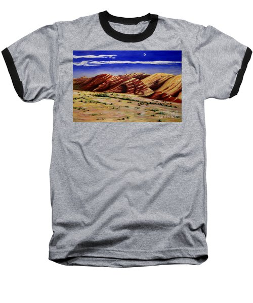 Painted Hills Baseball T-Shirt by Lisa Rose Musselwhite