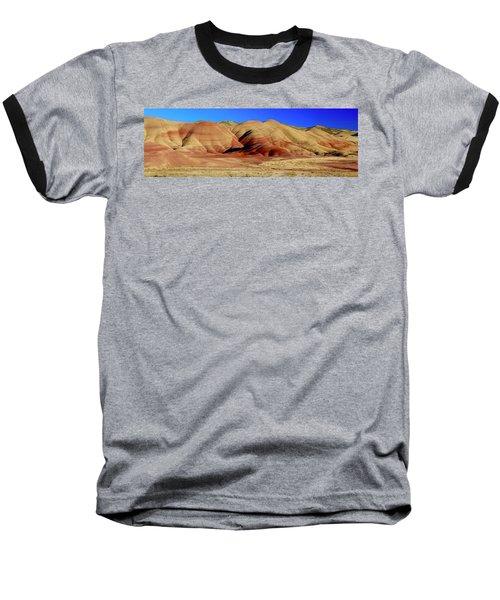 Painted Hills Pano Baseball T-Shirt