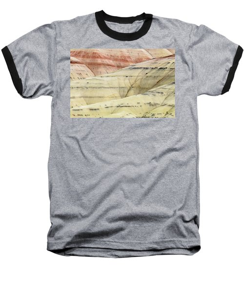 Baseball T-Shirt featuring the photograph Painted Hills Ridge by Greg Nyquist