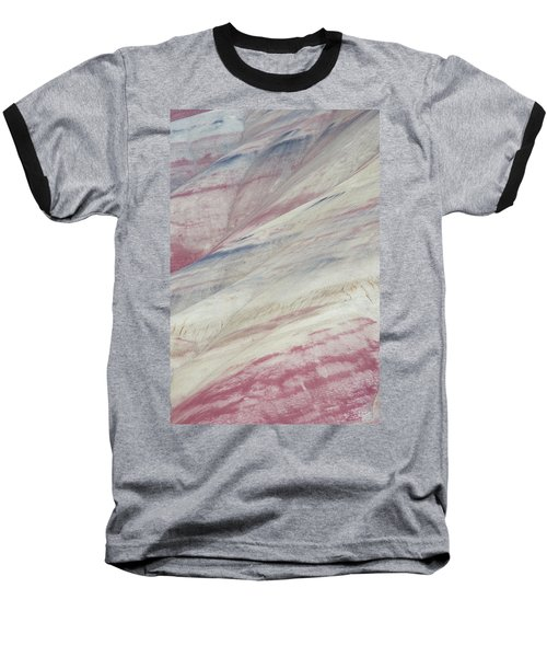 Baseball T-Shirt featuring the photograph Painted Hills Textures 3 by Leland D Howard