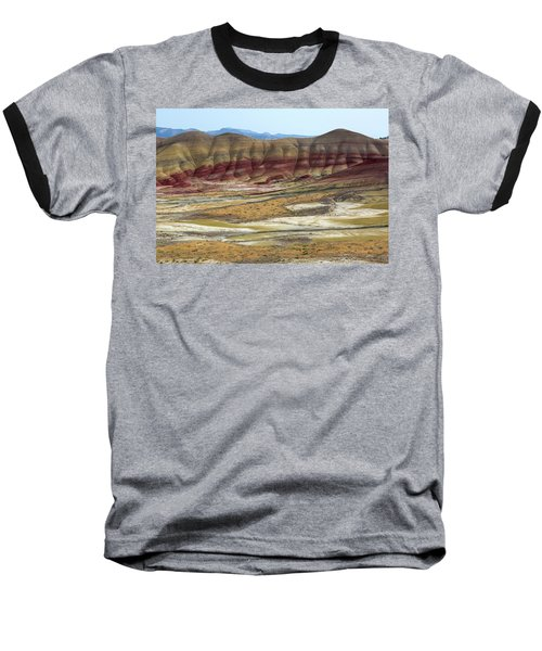 Painted Hills View From Overlook Baseball T-Shirt