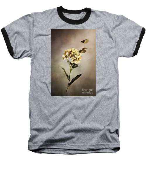 Painted Hydrangeas Baseball T-Shirt